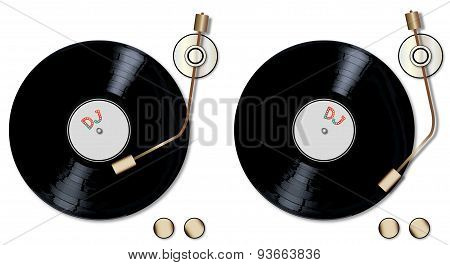 Dj Record Decks