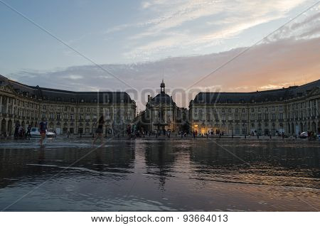 Bordeaux city view