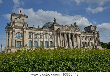 View of the Reichstag