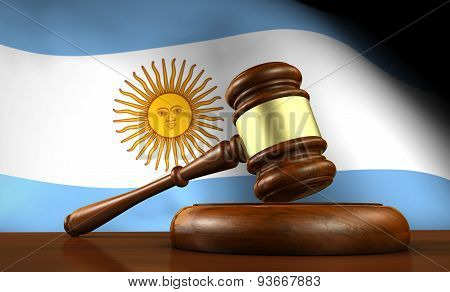 Argentina Law And Justice Concept