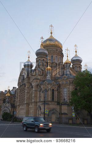 church in St. Petersburg, Russia
