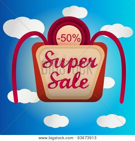 Super sale lable