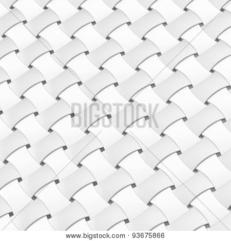 Wicker surface as a background