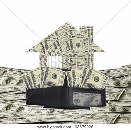 money building money growth concept