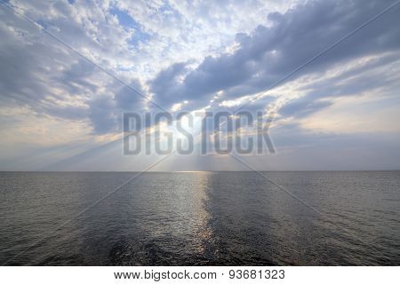 Glorious Sky Over Ocean
