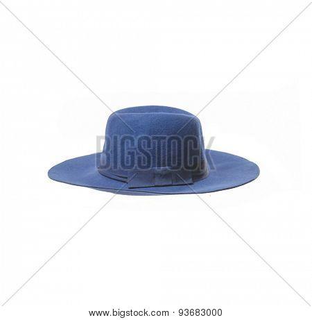 Blue Summer female hat
