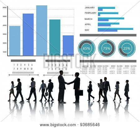 Business People Strategy Corporate Partnership Concept