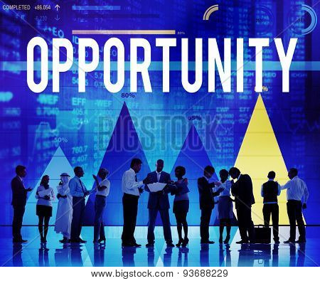 Opportunity Chance Choice Inspiration Success Concept