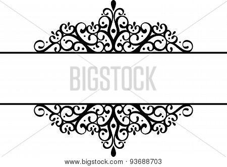 decorative vignette