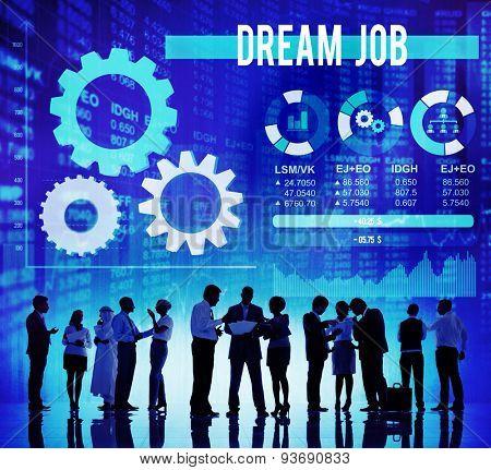 Dream Job Occupation Goals Career Concept