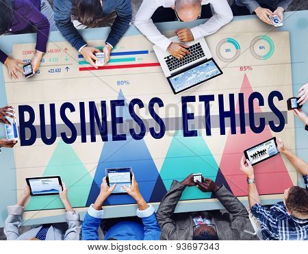Business Ethics Honesty Ideology Integrity Concept