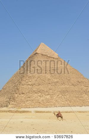 Pyramids in Giza - Cairo, Egypt