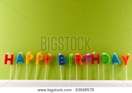 Text Happy Birthday