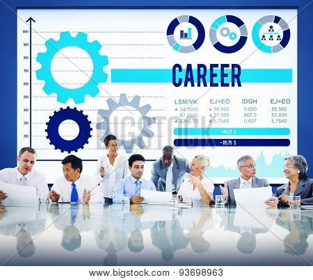 Career Occupation Job Employment Hiring Concept