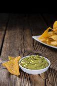stock photo of nachos  - Portion of Nachos  - JPG