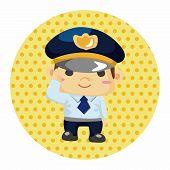foto of policeman  - Policeman Theme Elements - JPG