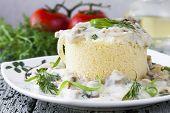 image of vegetarian meal  - Vegetarian meal  - JPG