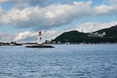 stock photo of lighthouse  - Tokarevskiy lighthouse  - JPG