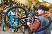 image of bicycle gear  - Bike maintenance - JPG