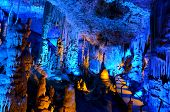 picture of cave  - Soreq Avshalom Cave located in the Judean Mountains Israel - JPG