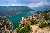 ������, ������: Overlooking The Bay Of Kotor In Montenegro
