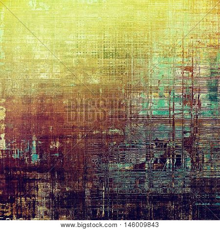Colorful scratched background or grungy texture. With different color patterns: yellow (beige); brown; green; purple (violet); cyan; pink
