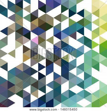 colorful geometric backgraund multicolored triangles vector illustration