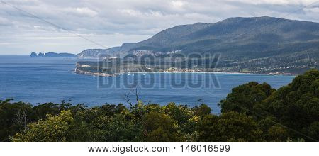 View From Pirate Bay At Eaglehawk Neck, Tasmania