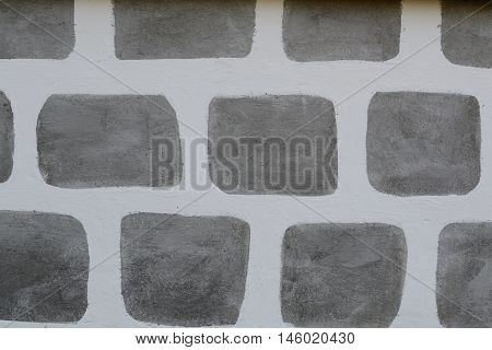painted pattern an exterior farmhouse - background