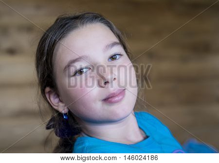 9-10 years old teen girl