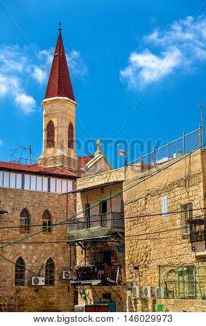 The Franciscan Terra Sancta Church in Akko, Israel