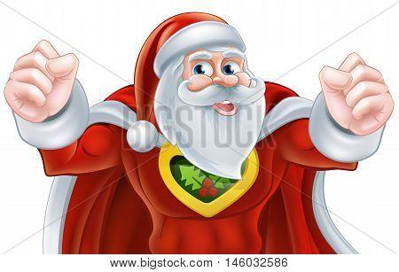 Santa Super Hero