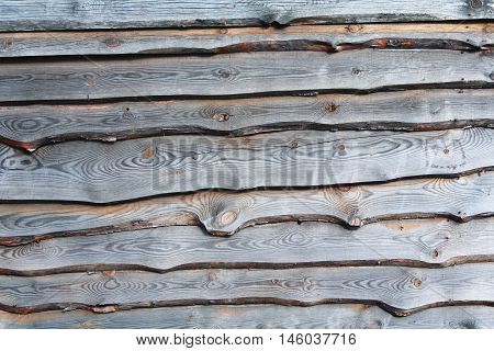 Old wooden boards overlap. Backgrounds and textures