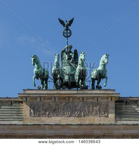Berlin Symbol , Brandenburg Gate ( Brandenburger Tor)