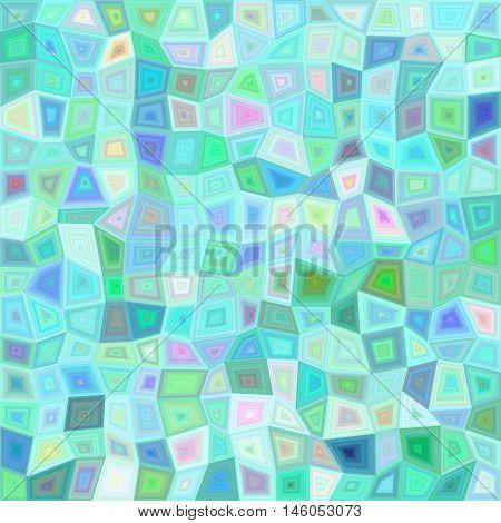 Light color irregular rectangle mosaic vector background