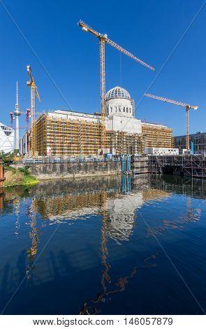 Berlin Palace Construction Site (stadtschloss, Berlin)