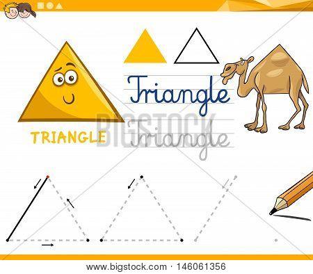 Cartoon Basic Geometric Shapes