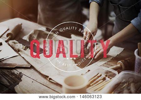 Quality Premium Exclusive Brand Concept