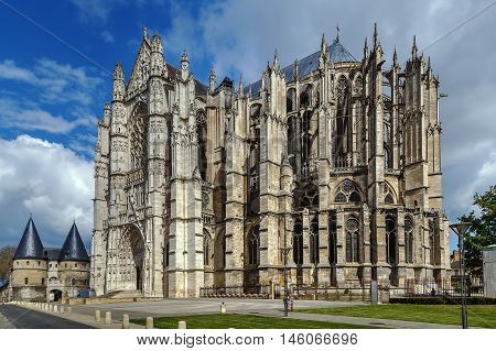 The Cathedral of Saint Peter of Beauvais is an incomplete Roman Catholic cathedral in Beauvais in northern France.