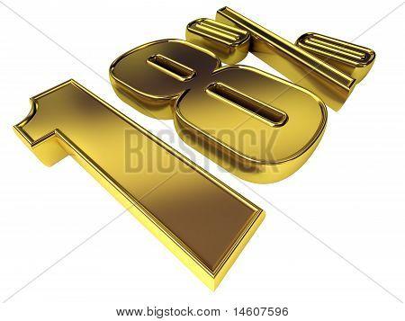 Gold 18 Percent