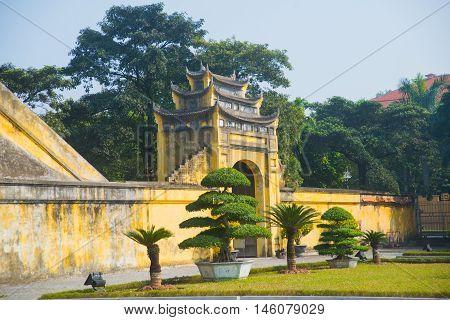 Ha Noi, Vietnam.thang Long Citadel As A World Heritage City Famous In Hanoi