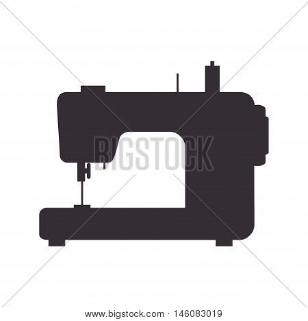 sewing machine, Tailoring and dressmaking, Equipment for fashion industry. Vector illustration