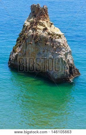 Rock Near Beach (portugal)
