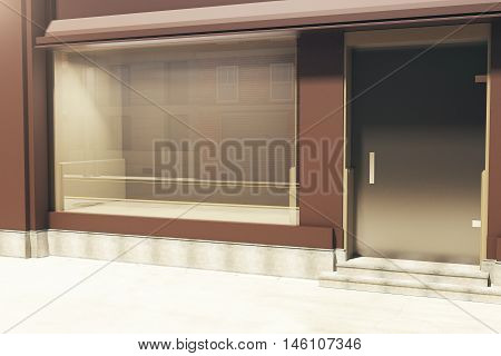 Storefront Sideview