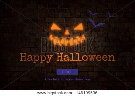 Halloween Trick or Treat Party Concept