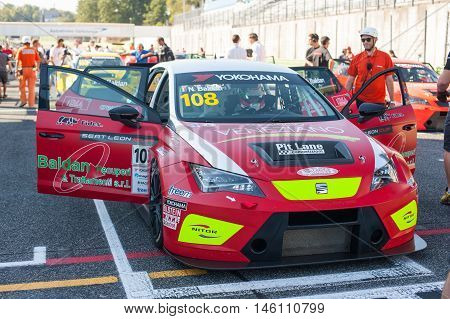 Vallelunga, Rome, Italy. September 4Th 2016. Seat Leon Italian Cup