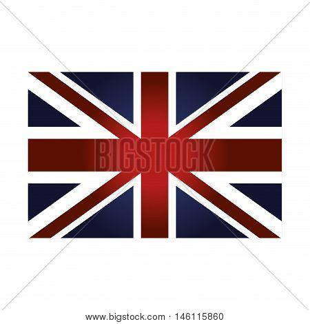 london city flag patriotic british symbol. vector illustration