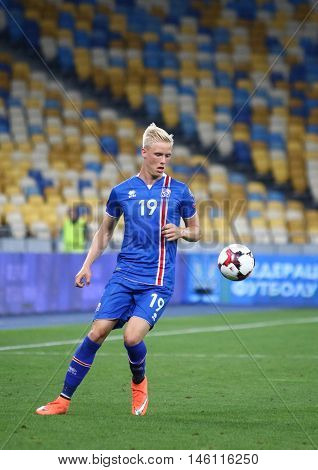 Fifa World Cup 2018 Qualifying Game Ukraine V Iceland