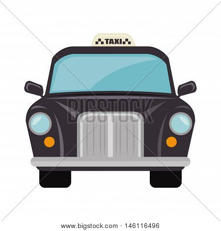 british cab classic taxi car. london symbol
