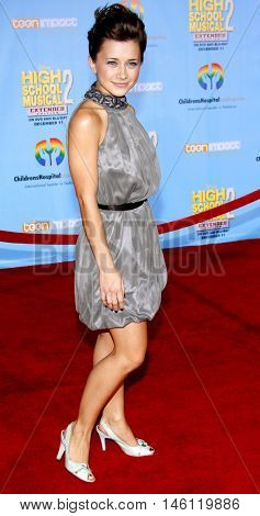 Olesya Rulin at the DVD Release premiere of